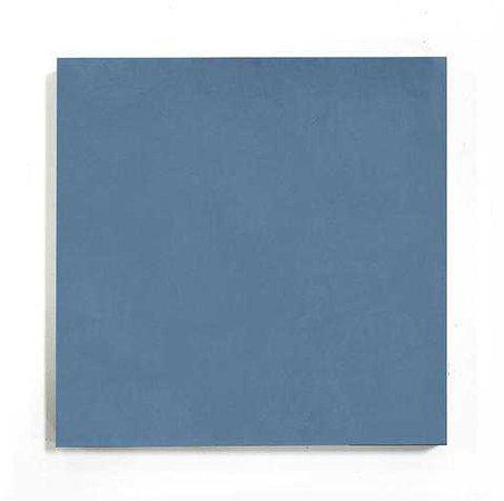 second shelf | encaustic cement tile - nautical blue solid square