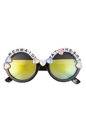 Rad + Refined Mermaid At Heart Round Sunglasses   Nordstrom