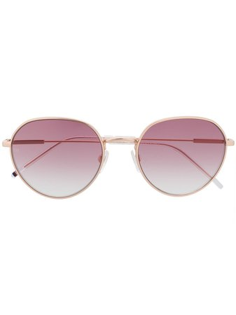 Tommy Hilfiger round-frame Tinted Sunglasses - Farfetch