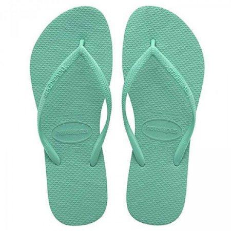 Havaianas Slim Mint Green flip flops