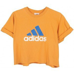 Yellow Adidas Crop