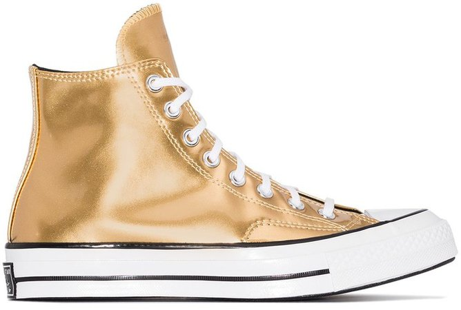 Chuck Taylor 70 metallic high top sneakers
