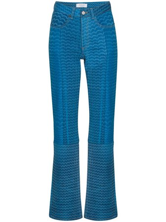blue Marine Serre Moonfish straight-leg jeans