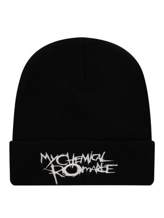 My Chemical Romance Black Parade Logo Beanie - Buy Online at Grindstore.com