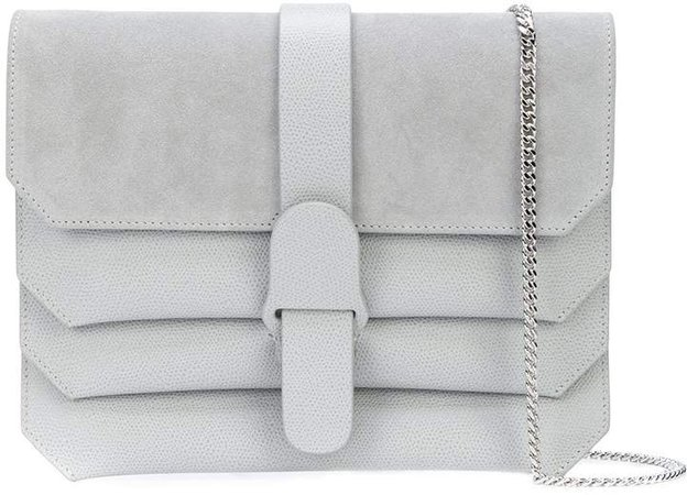 Medium Panelled Clutch