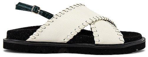 X Strap Mold Sandals