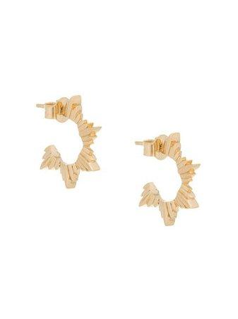 Meadowlark Maiden Hoop Earrings - Farfetch
