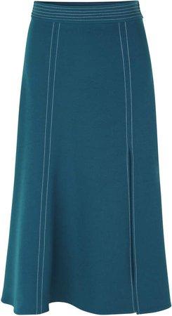 Jada Split Seam Midi Skirt