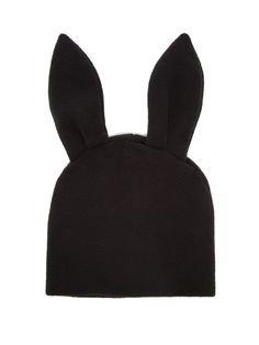 cdg bunny beanie