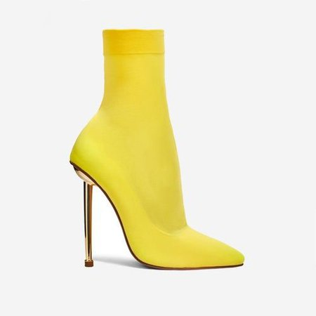 yellow knit shoes heels - Google Search