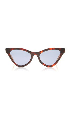 Cat-Eye Acetate Sunglasses By Gucci | Moda Operandi
