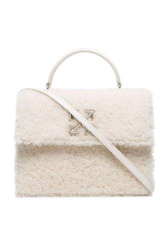 White Off-White 2.8 Arrow Shoulder Bag | Farfetch.com