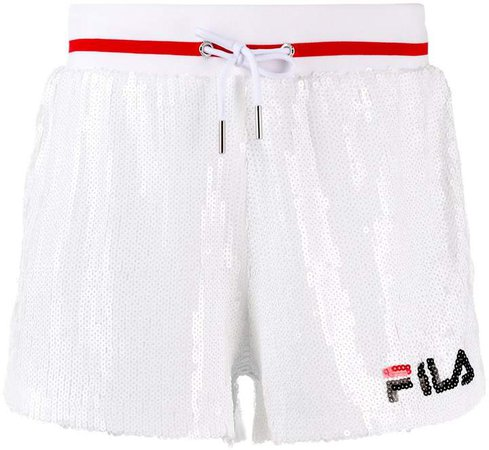 Drawstring Logo Shorts