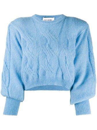 GRETA BOLDINI Chiara Juliet-sleeve Sweater - Farfetch