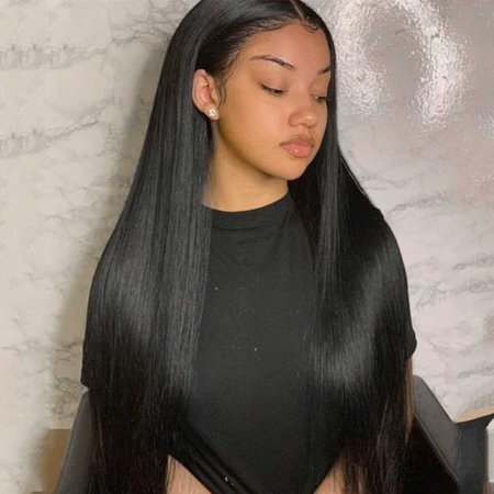 Cheap J-Shape Lace Wigs Straight Human Hair Wig Higher Cost Performance For Black Women – Tuneful Hair