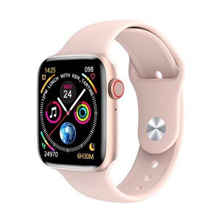 General - Smart Watch IOS Android Iphone Apple Samsung LG W26+ Smartwatch Men Kids Watches-Black - Walmart.com - Walmart.com