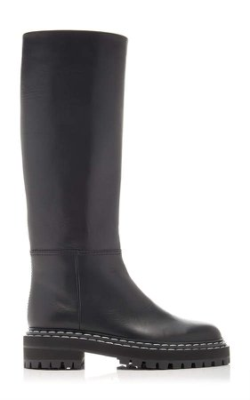 Proenza Schouler Leather Knee High Boots