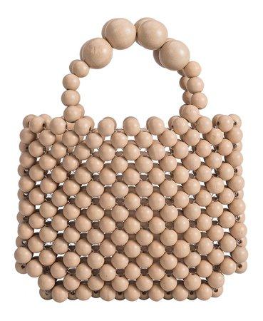 Melie Bianco Fiji Wooden Mini Tote Bag & Reviews - Handbags & Accessories - Macy's