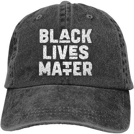 *clipped by @luci-her* KKMKSHHG Black Lives Matter Baseball Cap, Adjustable Dad Denim Hats for Men and Women (Black Lives Matter, One Size) at Amazon Men's Clothing store