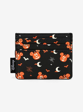 Loungefly Disney Mickey Mouse Pumpkin Cardholder