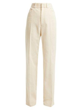 Cotton-corduroy trousers   Helmut Lang   MATCHESFASHION.COM