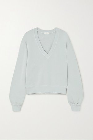 Cotton-jersey Sweatshirt - Blue