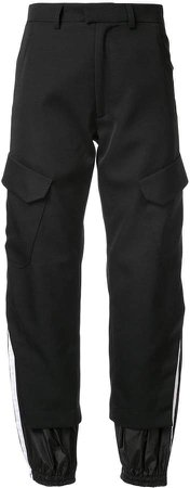 Delada tapered cargo trousers