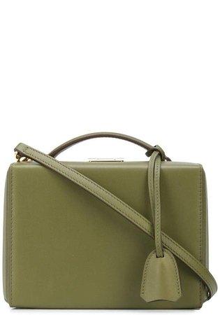 box clasp tote bag