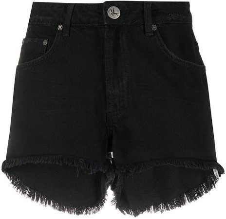 Bonita frayed denim shorts