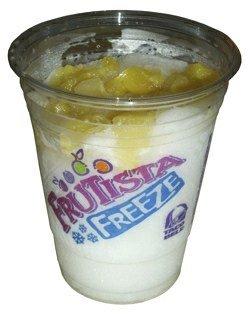 REVIEW: Taco Bell Pina Colada Frutista Freeze - The Impulsive Buy