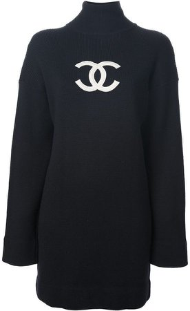 Chanel Knit Sweater Dress