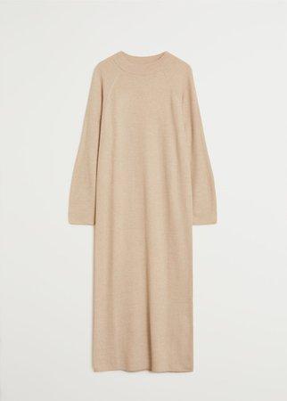 Fine knitted dress - Woman | Mango Canada