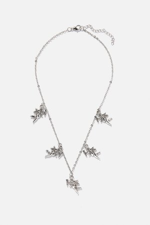 Heavenly Angel Charms Necklace – Adika