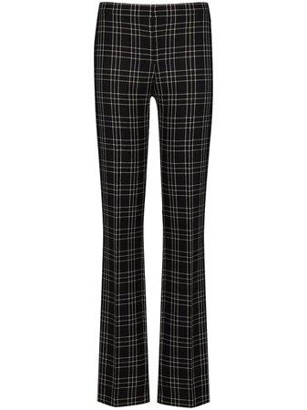 Alexander McQueen check-pattern slim-leg Trousers - Farfetch