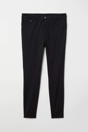 H&M+ High Waist Jeggings - Black