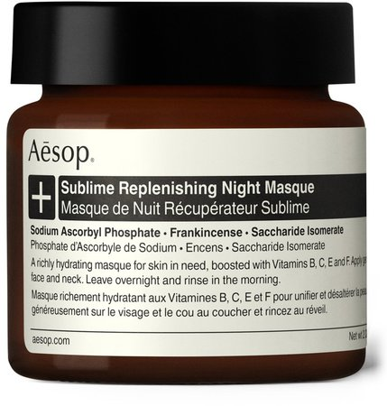Sublime Replenishing Night Masque