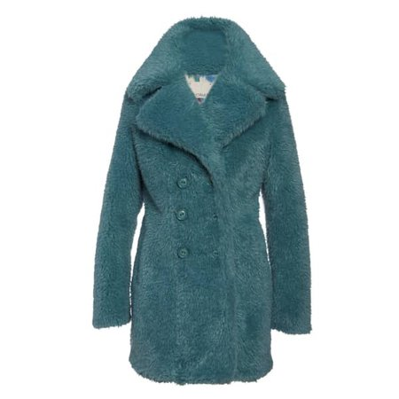 Margot Teal Coat | N'Onat | Wolf & Badger