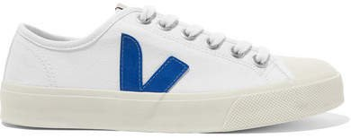 Wata Organic Cotton-canvas Sneakers - White