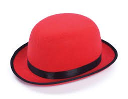 bowler hat red - Buscar con Google