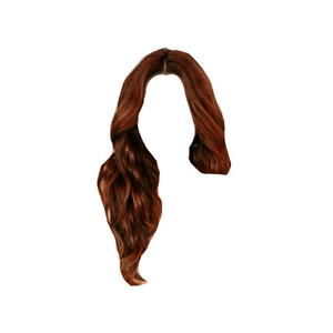 Red Auburn Hair PNG