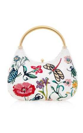 Flora And Fauna Top Handle Clutch By Judith Leiber Couture | Moda Operandi