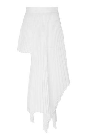 Asymmetric Pleated Voile Skirt by Peter Do | Moda Operandi