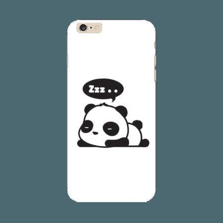 Sleeping panda phone cover - Banayega