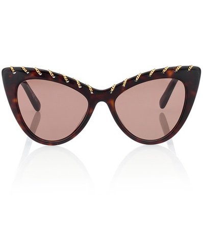 Falabella Chain cat-eye sunglasses