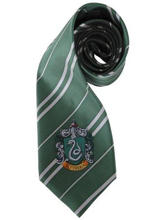 slytherin hogwarts tie