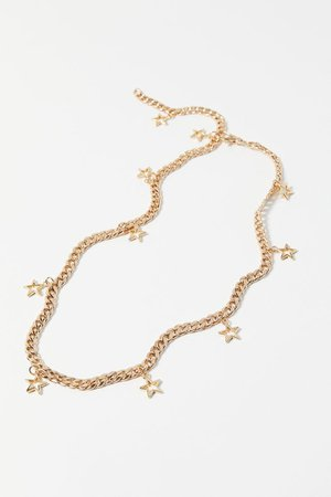 UO Star Charm Chain Belt | Urban Outfitters