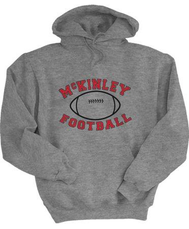 mckinley football hoodie
