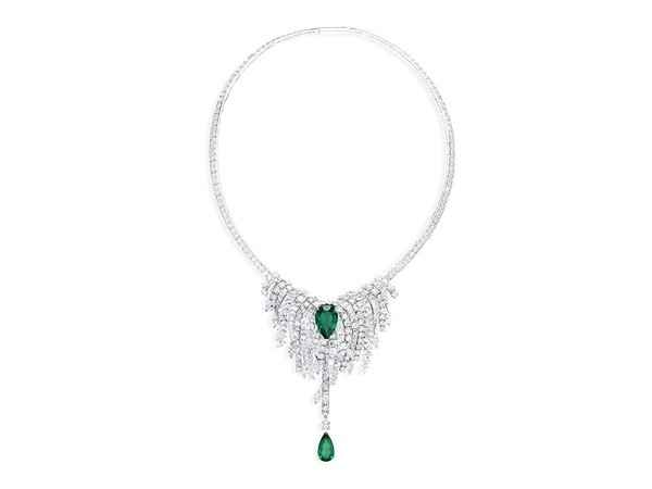 Piaget, Emerald necklace