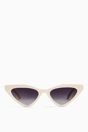APPLE Feline Sunglasses | Topshop