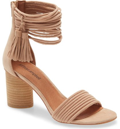 Jeffrey Campbell Pallas Ankle Strap Sandal (Women) | Nordstrom